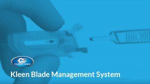 Kleen Blade Management System