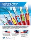 Retractable Scalpels putting Safety First