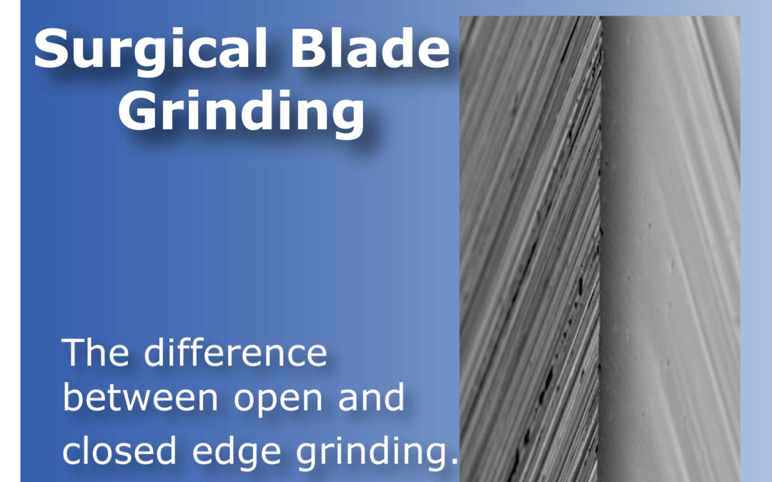 Surgical blade grinding makes a difference in the cut